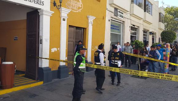 Arequipa: Se incrementa el índice delictivo en la Ciudad Blanca con el reinicio de las actividades económicas. (foto referencial)