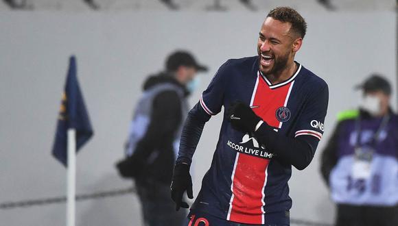 Neymar quiere conseguir la Champions League con PSG y el Mundial con Brasil. (Foto: AFP)