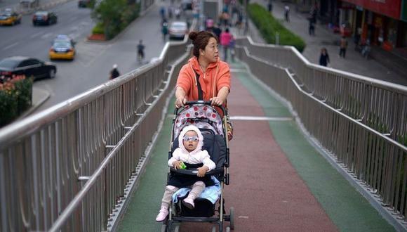 Unos 12 millones bebés nacieron en China el año pasado, la cifra más baja desde los 1960. (Foto: GETTY IMAGES).
