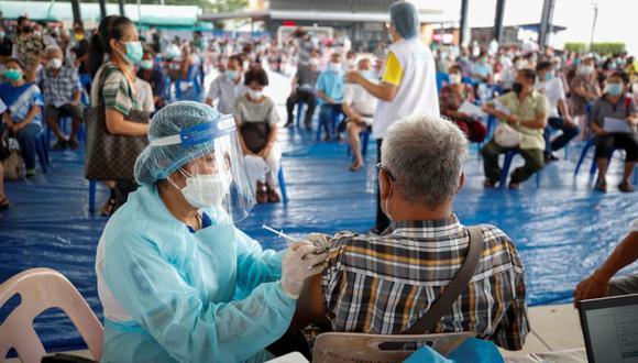 Coronavirus en China   Últimas noticias   Último minuto: reporte de infectados y muertos por COVID-19 hoy, domingo 18 de julio del 2021. (Foto: EFE/EPA/DIEGO AZUBEL).