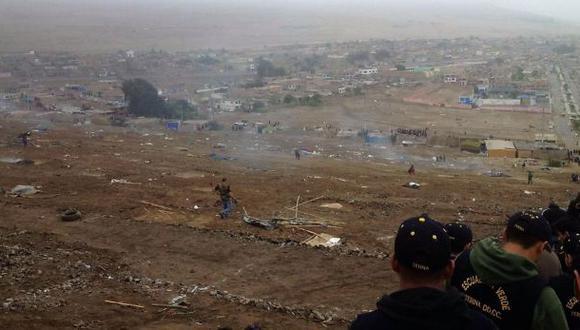 Chancay: desalojan a invasores de zona arqueológica