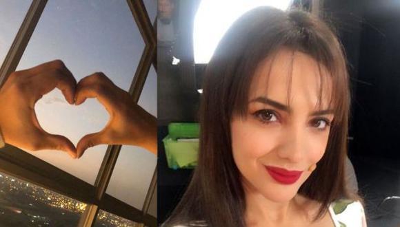 Rosángela Espinoza enamorada. (Foto: Instagram)