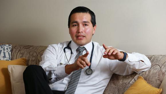 El doctor Enrique Gil es el responsable de la Unidad de Cirugía Fetal de la clínica Delgado y es director del Instituto Peruano de Medicina y Cirugía Fetal. (Foto: Archivo personal)