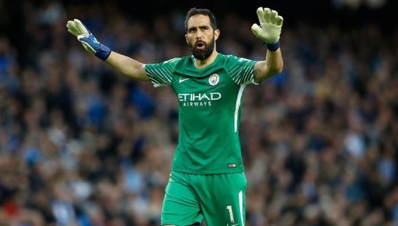 Claudio Bravo y sus sentida carta de despedida hacia el Manchester City / EFE