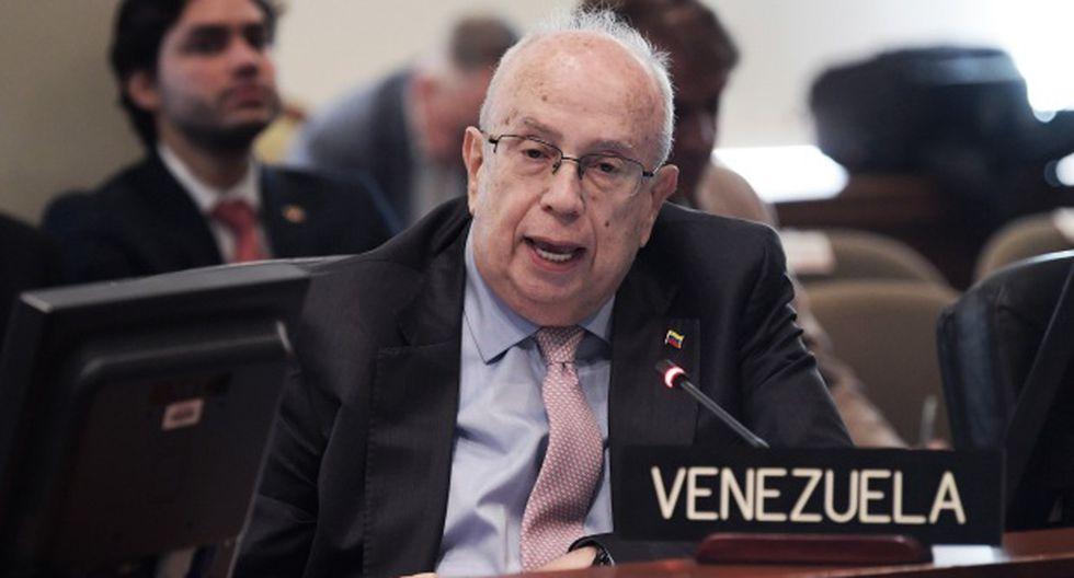 """Gustavo Tarré señaló que Venezuela también """"se ha involucrado en conflictos extracontinentales como el de Siria. (Foto: EFE)"""