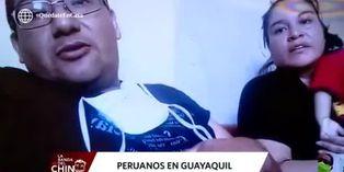 Coronavirus: el drama de una familia peruana en Guayaquil