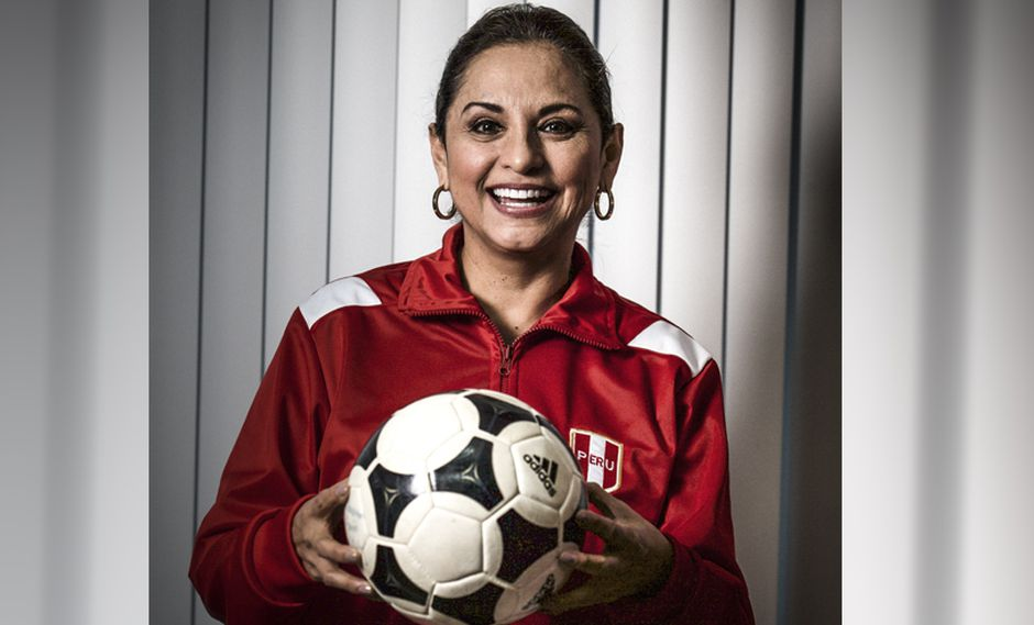 A la periodista, Rosana Cueva, le emociona seguir viendo a Perú en los Mundiales. (Foto: Juan Ponce)