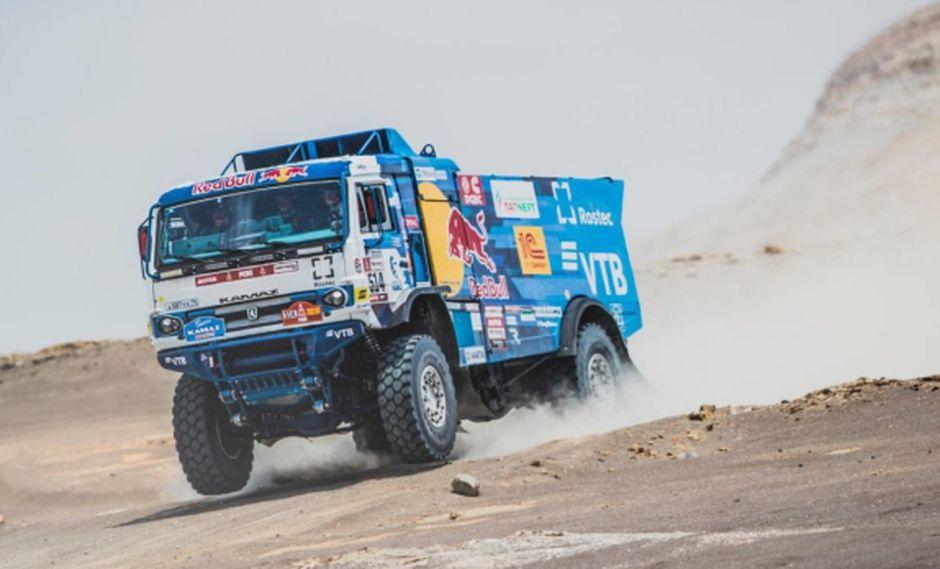 Sotnikov fue segundo en el Dakar 2017. (Foto: Difusión)