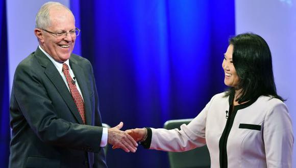 PPK obtiene una ligera ventaja sobre Keiko Fujimori en el conteo oficial de la ONPE tras las elecciones de segunda vuelta del 5 de junio. (Foto: AFP)