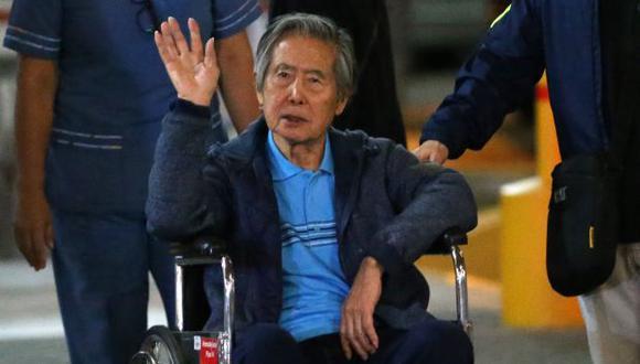 En el 2014, Alberto Fujimori hizo el mismo pedido, pero no fue aceptado. (Foto: AFP)