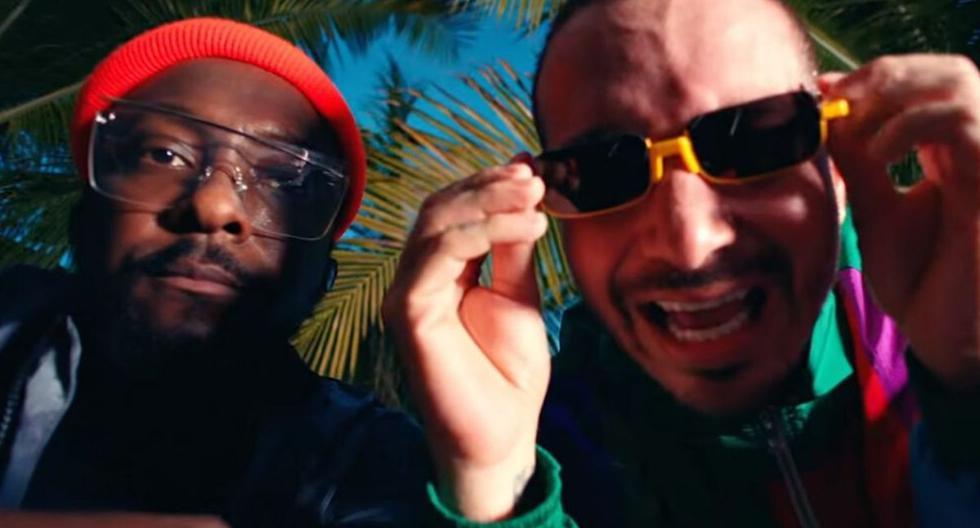 """Captura del videoclip del tema """"Ritmo"""", interpretado por The Black Eyed Peas y J Balvin. (YouTube)"""
