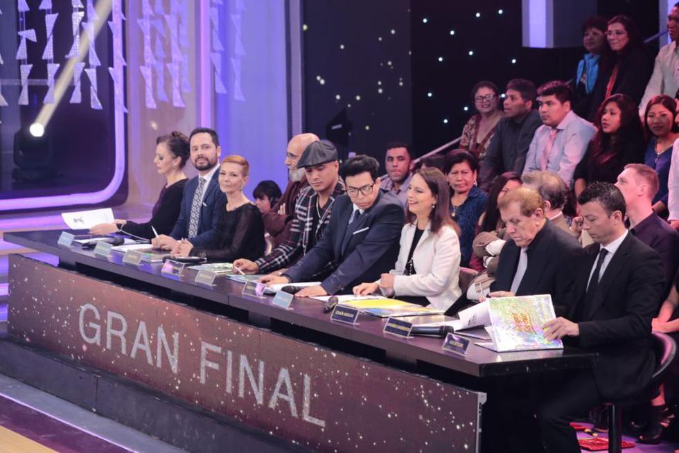 """Integrantes del jurado de la final de """"Reyes del show"""" 2017.  (Foto: Difusión)"""
