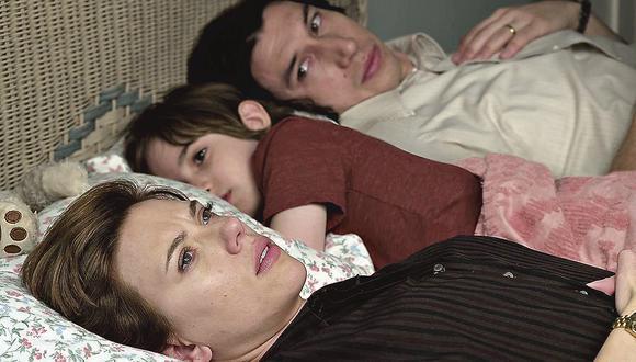 Escena de Historia de un matrimonio, la película de Netflix con seis nominaciones al Óscar.