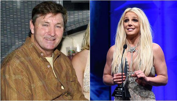 Jamie Spears y su hija Britney. (Fotos: Getty Images/AFP)