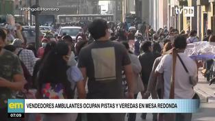 Cercado de Lima: Se registra aglomeración de personas en Mesa Redonda en vísperas de Halloween