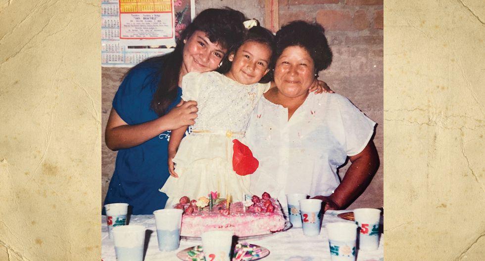 Sabina Breña tenía 38 años en la foto. En ese entonces ella solo se dedicaba a sus hijas, pero tenía una tienda de abarrotes que se encontraba en la casa.