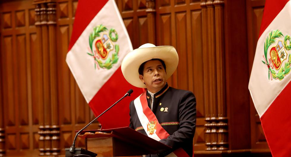"""Durante su primer mensaje a la nación, el presidente Castillo había dicho que no ejercerá el poder desde Palacio por considerarlo un """"símbolo colonial"""". (Foto: Presidencia de la República)"""