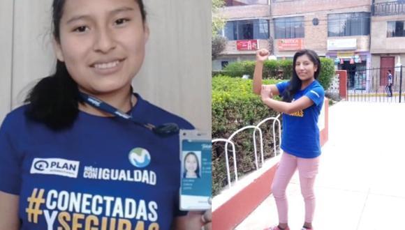 Giuliana tiene 15 años y es activista por los derechos de las niñas desde Paucartambo, Cusco. Jenny, tiene 16 y alza la voz por la misma causa desde la provincia de Chumbivilcas.  (Fotos: Plan International)
