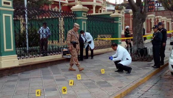 Cusco: dos militares realizaron disparos en centro histórico