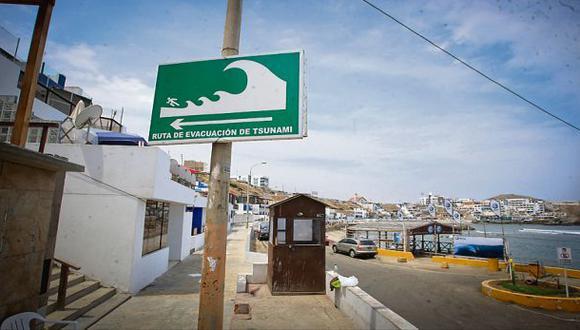 Indeci pondrá 126 sirenas de alerta de tsunamis