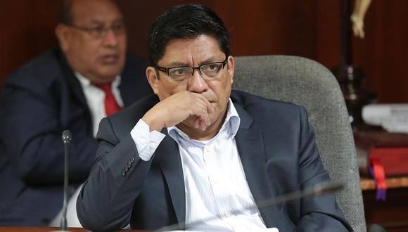 El ministro de Justicia, Vicente Zeballos, aseguró que los procuradores para el caso Odebrecht han actuado con autonomía. (Foto: GEC)