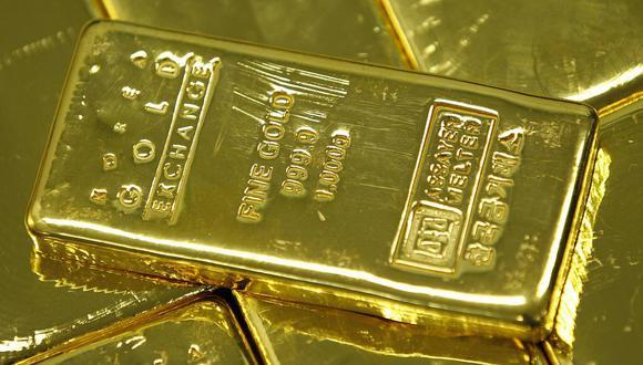 Los futuros del oro en Estados Unidos subían un 0,1% a US$1.765,00 la onza. (Foto: Reuters)