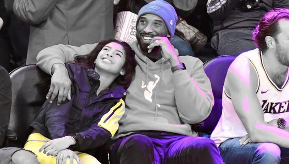 El portal TMZ confirmó que la hija de Kobe Bryant viajaba con él | Foto: TMZ