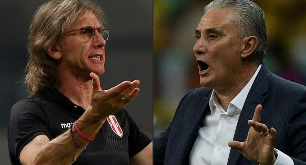 Ricardo Gareca ha enfrentado cinco veces a Tite y solo ha pedido vencerlo en un amistoso del 2019. (Foto: AFP)