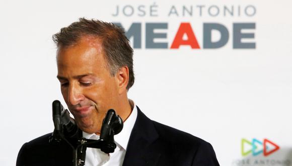 José Antonio Meade postuló por el gobernante PRI a la presidencia de México, en una contienda que venció AMLO por amplia mayoría. (Foto: Reuters/Ginnette Riquelme)