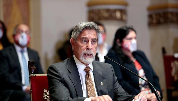 Sagasti añadió que desde el Ejecutivo continúa invocando a la ciudadanía a respetar las medidas como el uso correcto de la mascarilla, lavado de manos y distancia física. (Foto: Presidencia)
