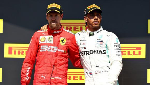 Para Marc Surer existe la opción de que Sebastian Vettel comparta equipo con Lewis Hamilton en Mercedes. (Foto: Reuters)