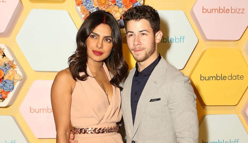 Priyanka Chopra y Nick Jonas compartieron su primera Navidad como esposos. (AFP, EFE)