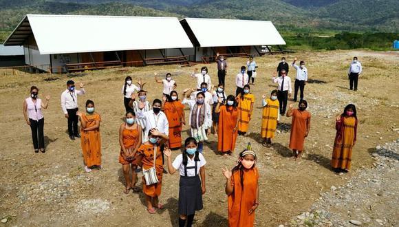 Los escolares beneficiados viven en Río Tambo, en la provincia de Satipo. (Foto: Minedu)