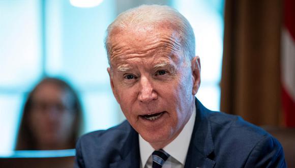 Joe Biden, presidente de los Estados Unidos. (EFE / EPA / Al Drago).