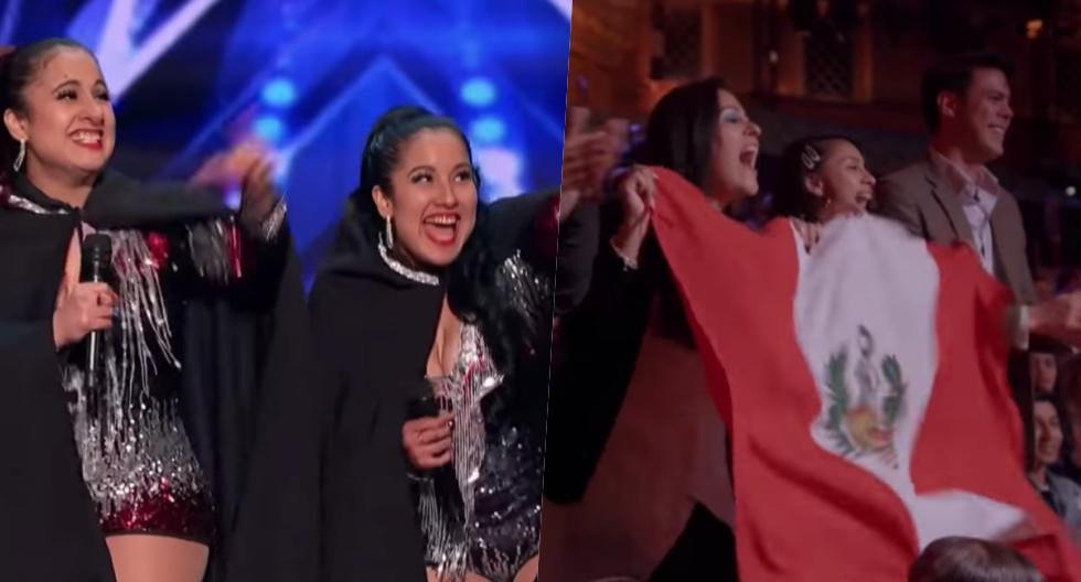 Andrea e Irene Ramos, durante su participación en America's Got Talent. (Foto: Captura)