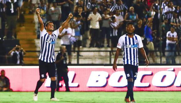 Alianza venció 2-0 a Comerciantes con doblete de Aguiar