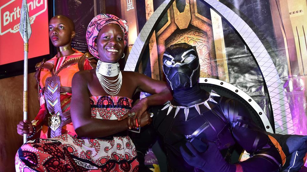 """Black Panther"" desata la moda africana  FOTOS"