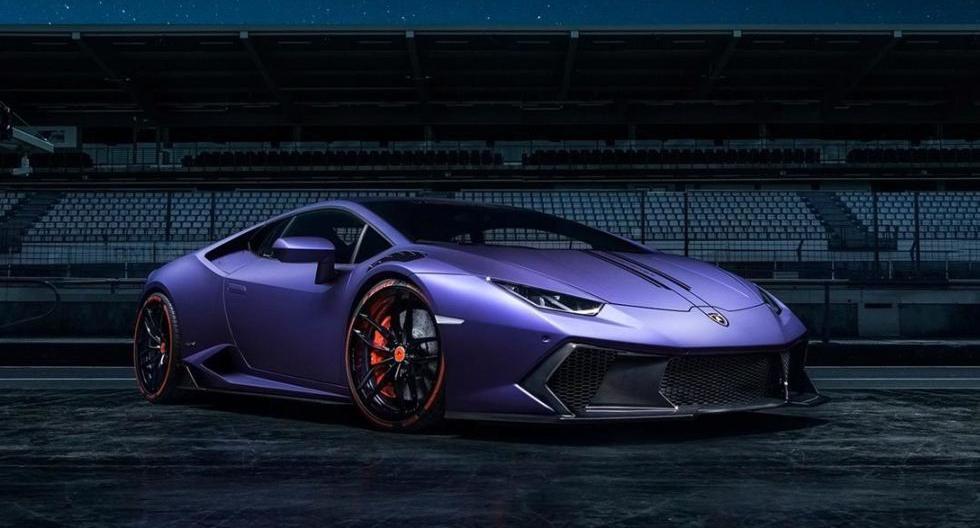 La casa preparadora Vorsteiner, especialista en deportivos europeos, le ha metido mano al espectacular Lamborghini Huracan. (Fotos: Vorsteiner)