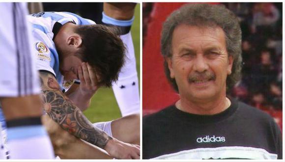 Lionel Messi: primer entrenador del astro argentino falleció
