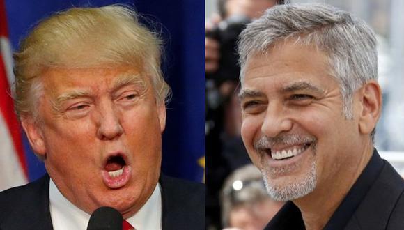 """George Clooney: """"No habrá presidente Donald Trump"""""""