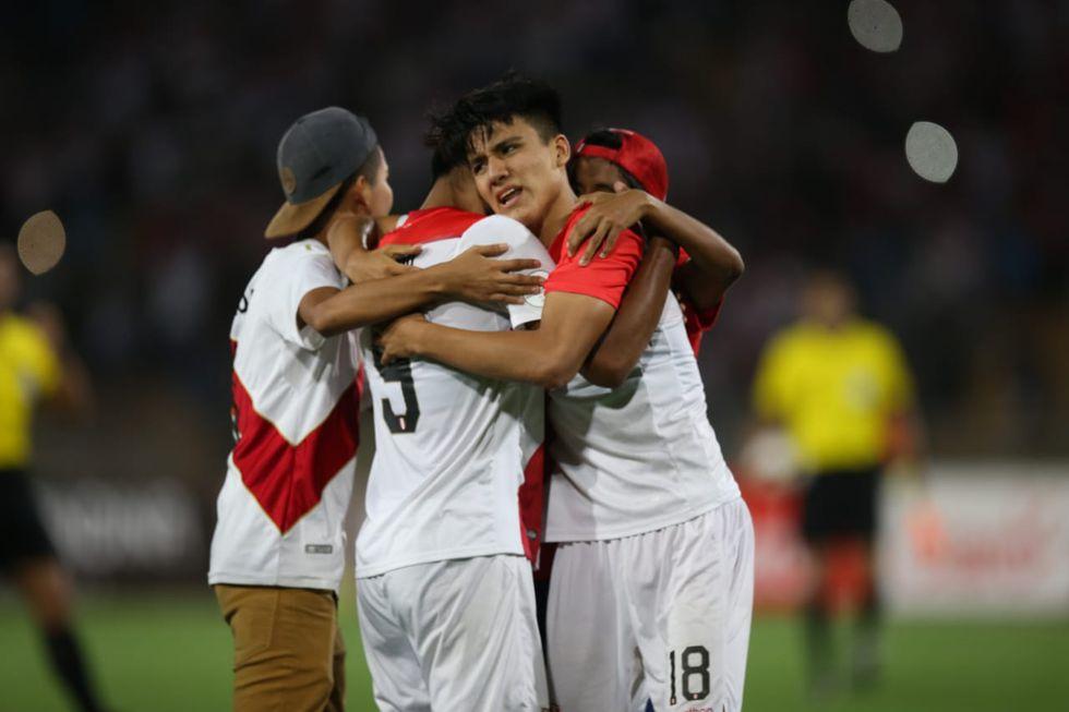 Perú vs. Uruguay: mira las mejores postales del partido por el Sudamericano Sub 17 en el estadio San Marcos.   Foto: Fernando Sangama/GEC