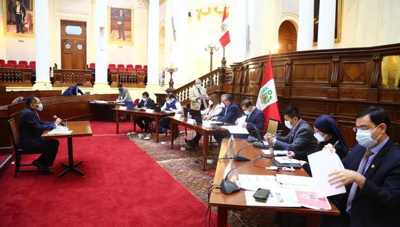 Comisión especial espera culminar este miércoles la fase de entrevistas. (Foto: Congreso de la República)