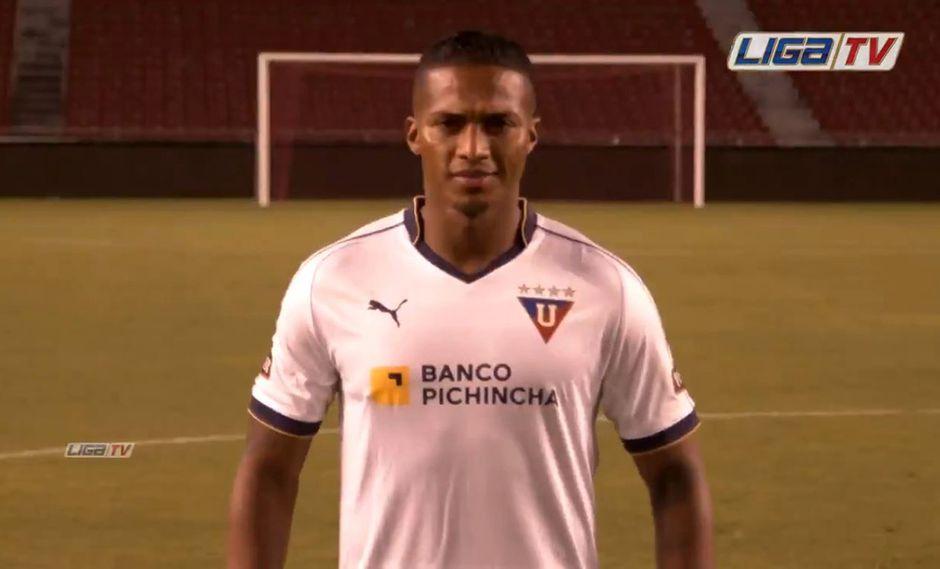 Antonio Valencia luego de 10 temporadas en el Manchester United, regresa a su país. (Foto: captura Twitter @LDU_Oficial)