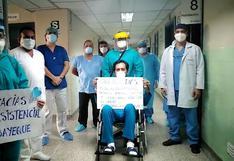 Chiclayo: hombre vence al COVID-19 luego de tres meses tras perder 39 kilos de peso | VIDEO