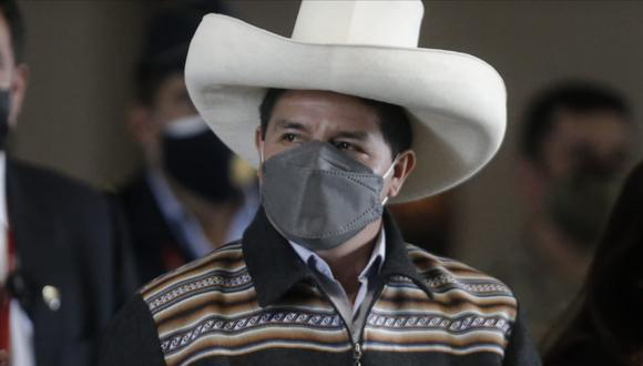 Pedro Castillo destacó la labor de las alcadesas de todo el Perú. Foto: Renzo Salazar / @photo.gec