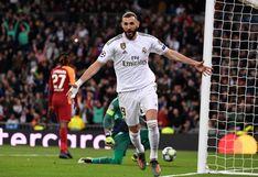 Benzema y Rodrygo se lucen en goleada de Real Madrid ante Galatasaray por Champions League
