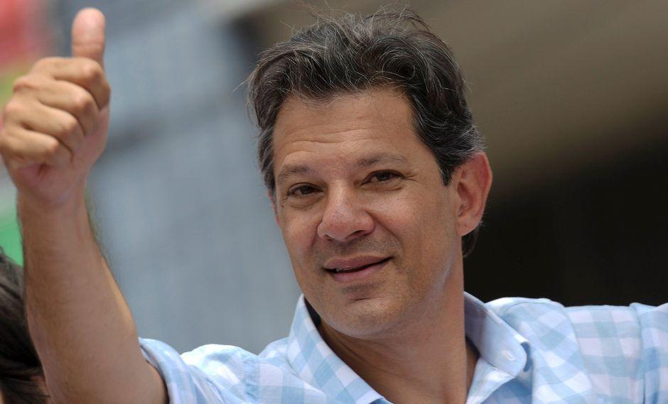 """Fernando Haddad, el """"heredero"""" de Lula que busca la presidencia de Brasil. (Reuters)."""