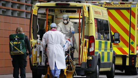Coronavirus en Reino Unido | Últimas noticias | Último minuto: reporte de infectados y muertos hoy, jueves 25 de febrero del 2021 | Covid-19. (Foto: Tolga Akmen / AFP).