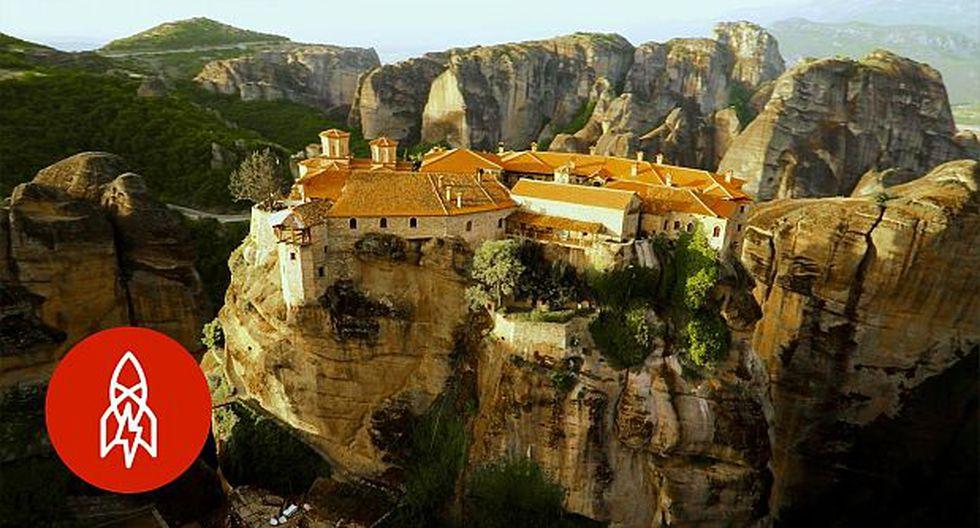 YouTube: el santuario que monjes construyeron 'en el cielo'