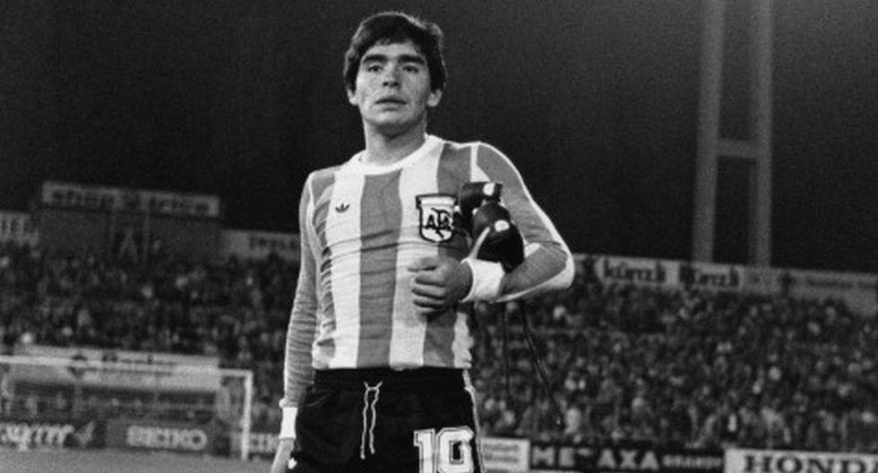 Con Argentina, Maradona disputó cuatro Mundiales: España 1982, México 1986, Italia 1990 y Estados Unidos 1994. (Foto: AP)